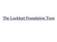 Lockhart profile